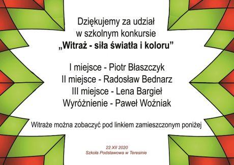 Info Witraż